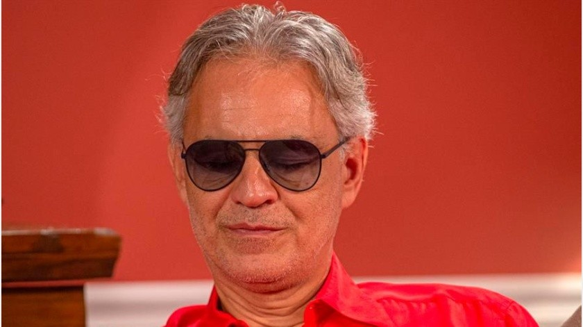 Andrea Bocelli cantará por Pascua sin público en Catedral de Milán; será transmitido(EFE)