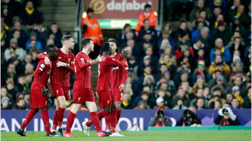 Presidente de la UEFA ve al Liverpool como el campeón 2019-20 de la Premier(Archivo Digital)