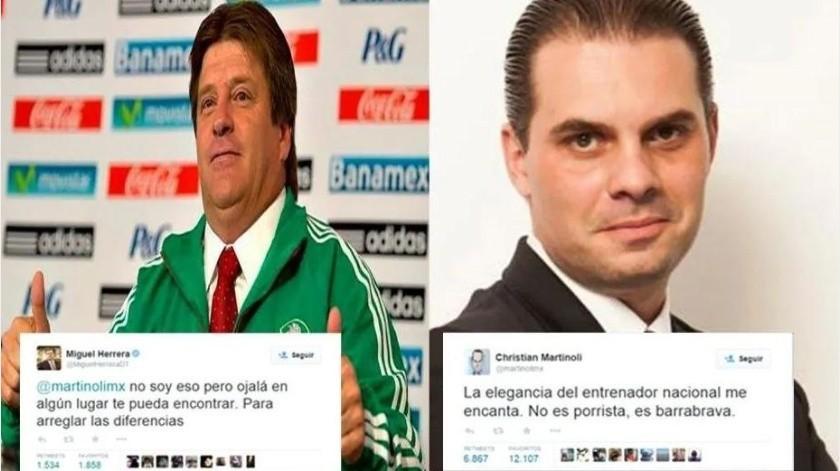 Así surgieron las diferencias entre Herrera y Martinoli; hubo golpes(Especial)