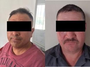 Los detenidos son Gilberto N. y David N.