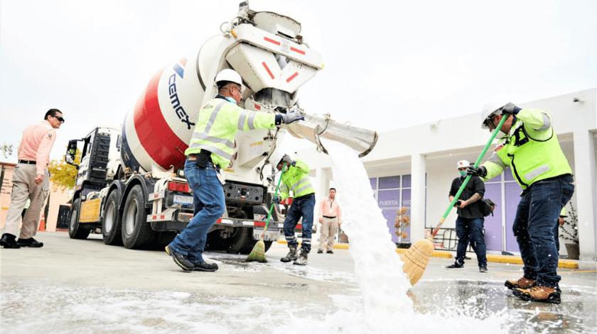 Sanitizarán áreas públicas de Tijuana para prevenir Covid-19.(Cortesía)