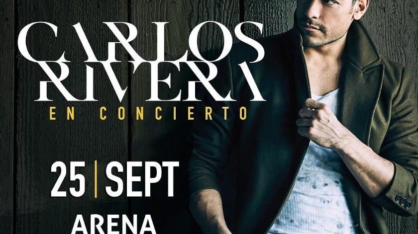 Carlos Rivera pospone el cierre de su Guerra Tour