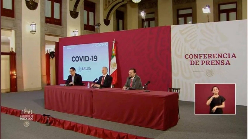 Suman 2 mil 785 casos confirmados y 141 muertes por Covid-19 en México