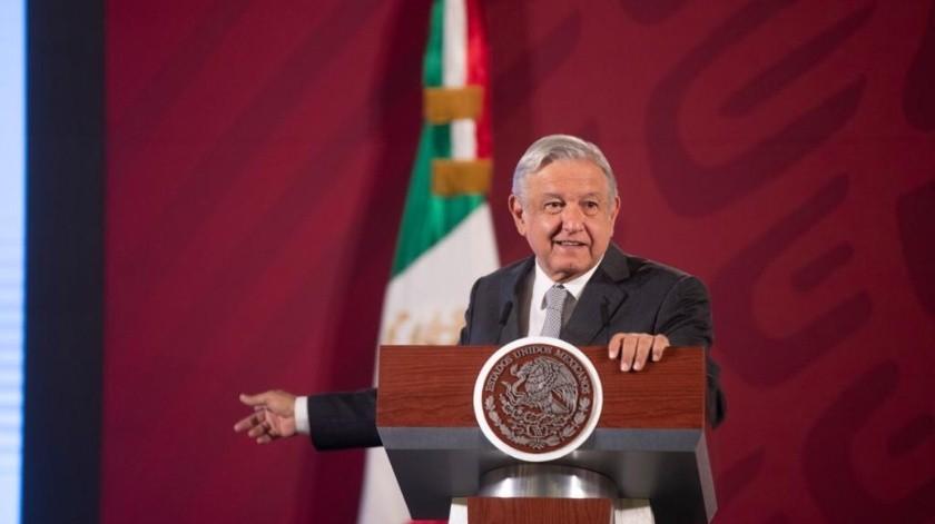Andrés Manuel López Obrador, presidente de México.(Cortesía.)