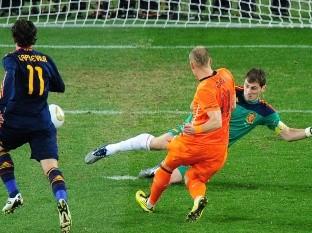 Iker Casillas opina que su mejor atajada fue a Arjen Robben en Sudáfrica 2010