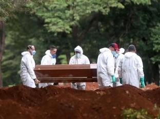 Brasil acumula 800 muertos por coronavirus, 133 en 24 hr