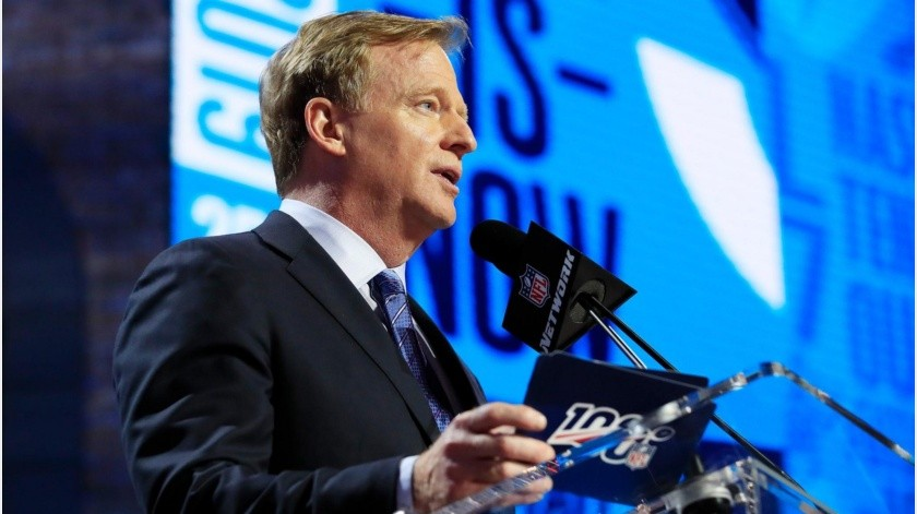 Draft de la NFL 2020 servirá para recaudar fondos para la lucha contra la pandemia(Twitter)