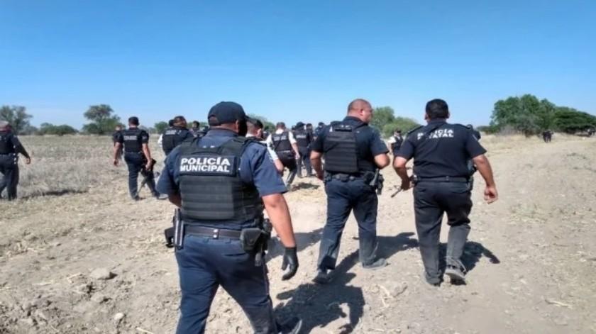5 integrantes de grupo delictivo son detenidos tras persecución en Aguascalientes(Especial)