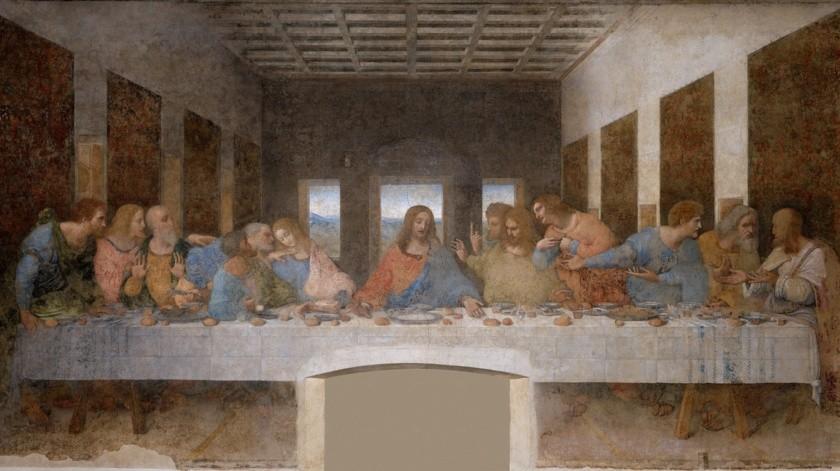 La última cena (en italiano: Il cenacolo o L'ultima cena) es una pintura mural original de Leonardo da Vinci ejecutada entre 1495 y 1498.(Pixabay)