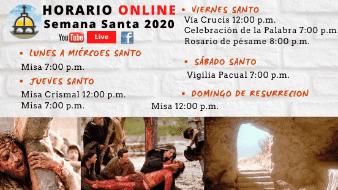 Celebración Eucarística / Jueves Santo 09 de Abril de 2020