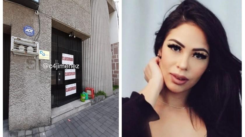 El reportero Carlos Jiménez informó que la clínica había sido clausurada.(Especial)