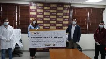 Entrega Alcaldesa donativo al Hospital General de Mexicali
