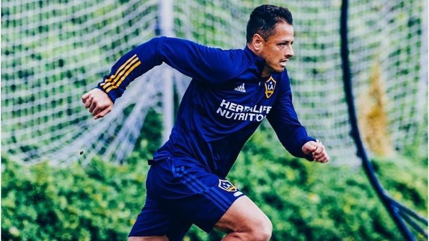 """""""Chicharito"""" Hernández no recibirá sueldo hasta que se reanude la temporada de la MLS(Instagram @ch14_)"""