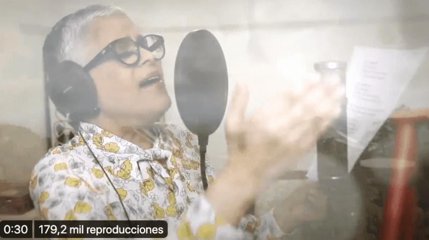 """Esta noche, el presidente Andrés Manuel López Obrador compartió en redes sociales el video de la canción """"Esto pasará"""", que le envió la cantante Eugenia León(Especial)"""