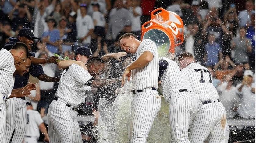 Yankees de nueva York sigue siendo la franquicia más valiosa de la MLB(EFE)