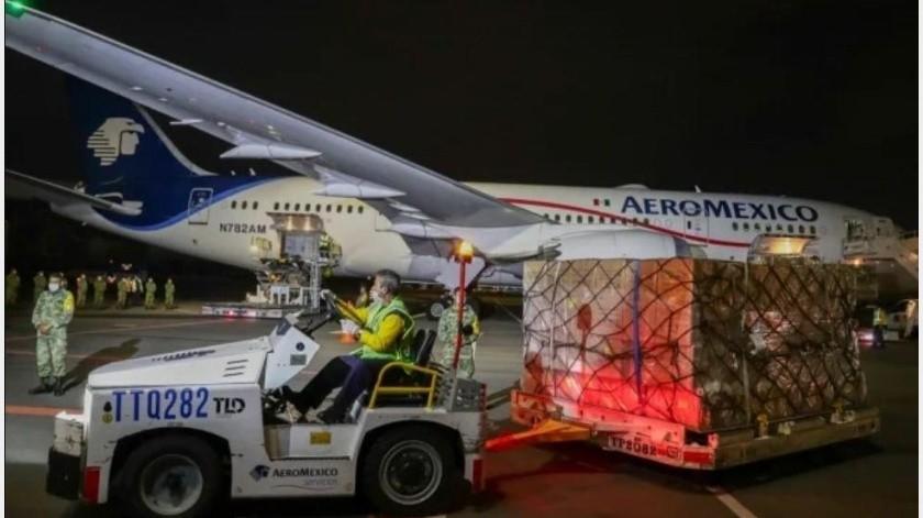 Esperan segundo vuelo desde China con equipo médico para esta noche(El Universal)