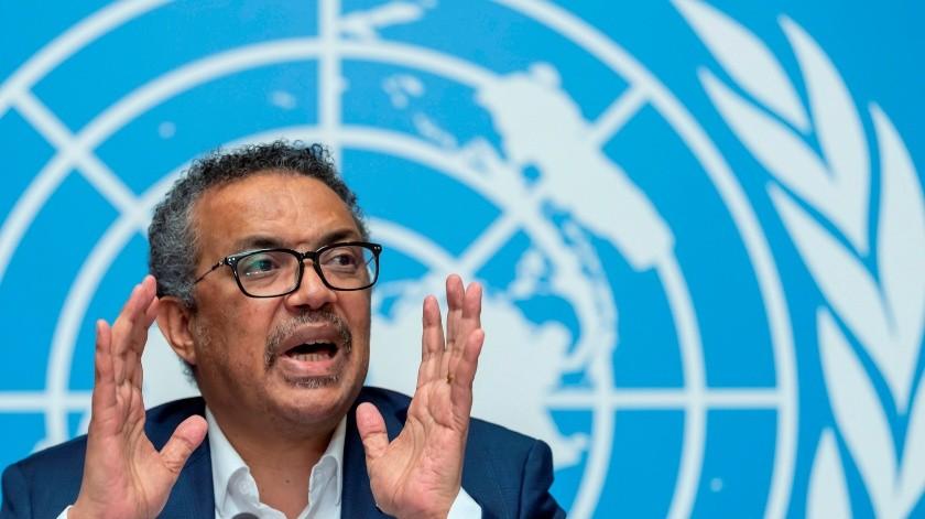 El director general de la Organización Mundial de la Salud (OMS), Tedros Adhanom Ghebreyesus.(EFE, EPA / KEYSTONE)