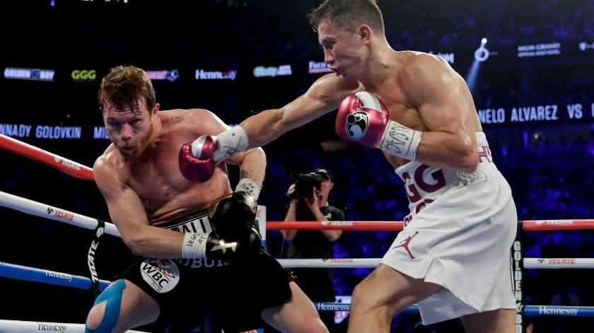 'Canelo' no descarta tercera pelea frente a Golovkin.(AP)