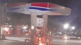 Cortan suministro de gas a tiempo y evitan siniestro