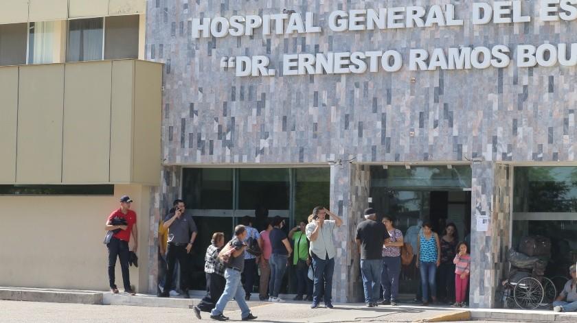 El área de urgencias del Hospital General del Estado (HGE) aisló un área debido a la presencia de un paciente que ingirió sulfuro de aluminio, la medida se tomó de manera preventiva para evitar riesgos, de acuerdo a las primeras indagatorias.