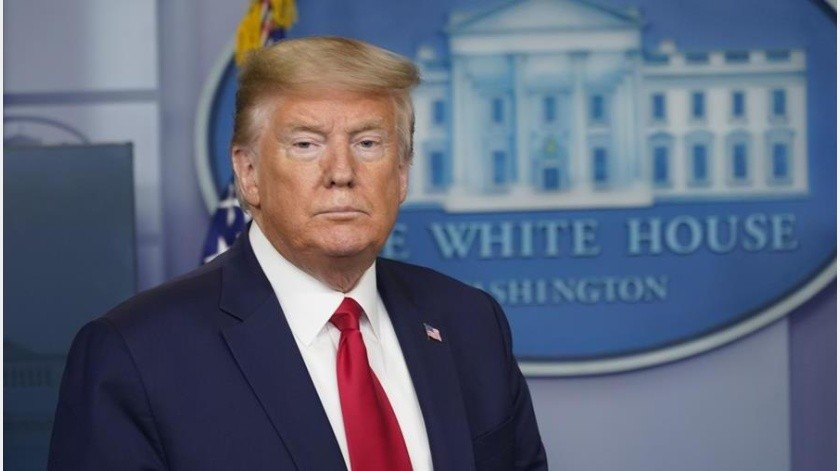 """Trump anuncia plan de """"reapertura"""" en medio de protestas """"anticuarentena""""(EFE)"""