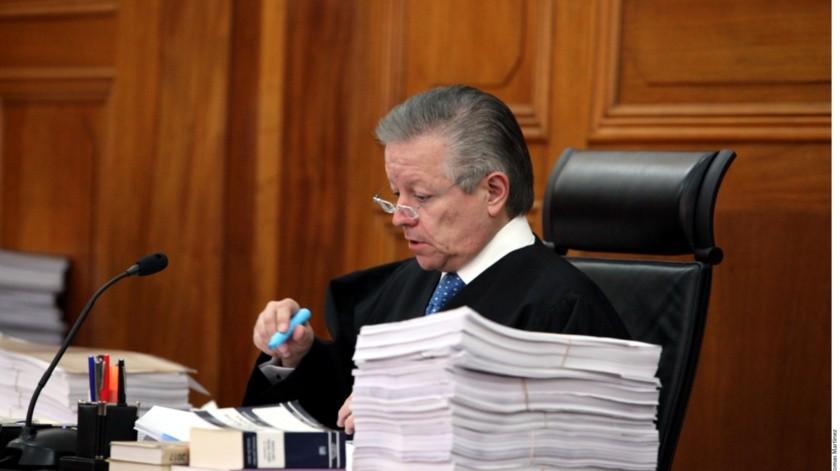 Suprema Corte de forma virtual a partir del 20 de abril: Arturo Zaldívar(Archivo GH)