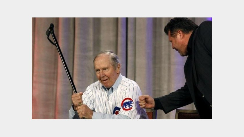 Fallece Glenn Beckert, leyenda de Cubs, a los 79 años(Twitter)