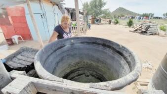 Sin agua potable, pero se la ingenian en tiempos de Covid