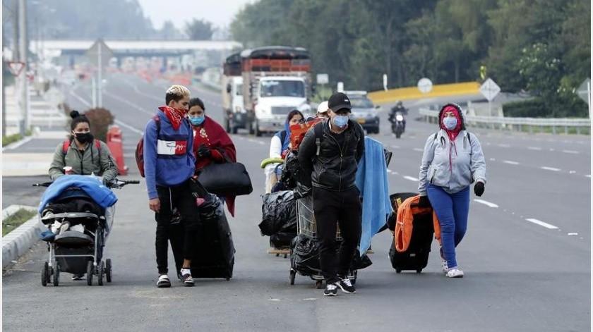 El Gobierno colombiano solicitó este lunes el apoyo de la comunidad internacional para aumentar los recursos destinados a la atención de venezolanos en el país durante la emergencia sanitaria por la enfermedad del COVID-19.(EFE)