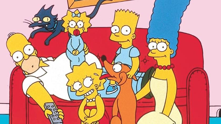 Familia crea su versión de la intro de 'Los Simpson' para combatir el aburrimiento