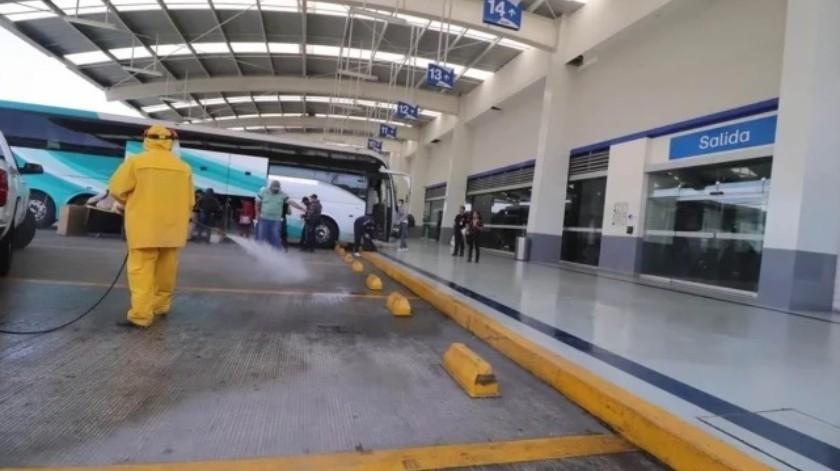 Inician campañas de sanitización de espacios públicos en Guerrero(Especial)