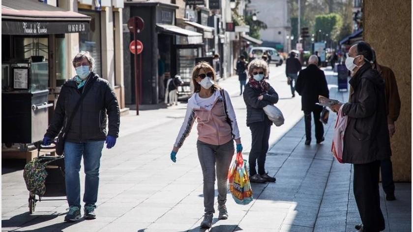 """El Fondo Monetario Internacional (FMI) advirtió este martes de que la crisis económica provocada por la pandemia mundial del coronavirus presenta una amenaza """"muy grave"""" para la estabilidad del sistema financiero global.(EFE)"""