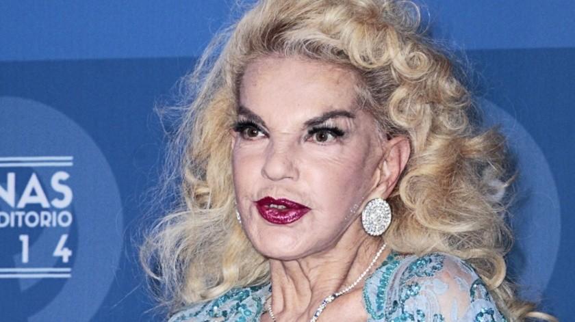 Wanda Seux se encuentra en estado grave.(Agencia México)