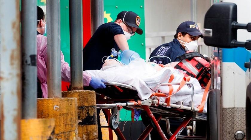 Nueva York registra un repunte de muertos.(EFE)