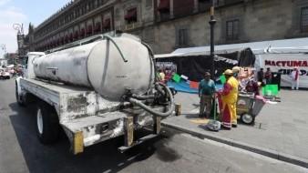 Supervisa Conagua y Profeco precio de pipas de agua ante emergencia por Covid-19