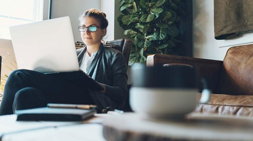 Aprovecha las ventajas de trabajar desde casa.(Tomada de la red)