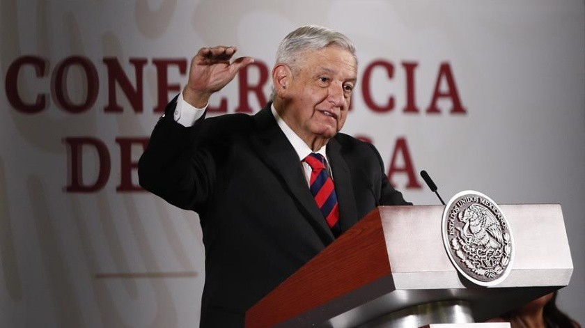 Andrés Manuel López Obrador, presidente de México.(EFE)