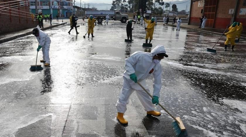 México está a unos días de entrar a la Fase 3 de la pandemia por el coronavirus, según sector Salud.(EFE)