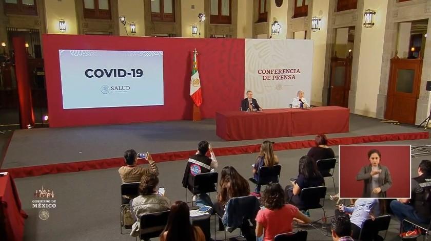 Covid-19 en México: Suman 5 mil 847 casos confirmados y 449 fallecidos