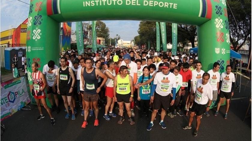 Maratón de Ciudad de México no se descarta a pesar de la pandemia del coronavirus(Instagram @deporte_cdmx)