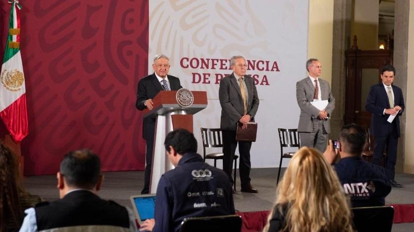 """""""Se precipitaron gobernadores del PAN al acusar mala calidad en insumos médicos"""", señala AMLO"""