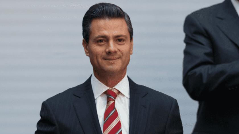 Enrique Peña Nieto, ex presidente de México.(Archivo)