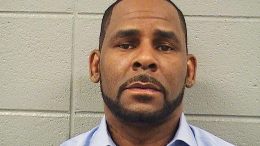 R Kelly pide estar fuera de prisión.(AP, Cook County Sheriff's Office)