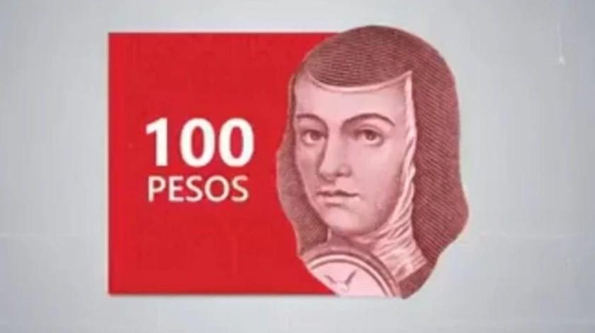 Nuevos billetes de 100 pesos, listos para circular en medio de pandemia(Especial)