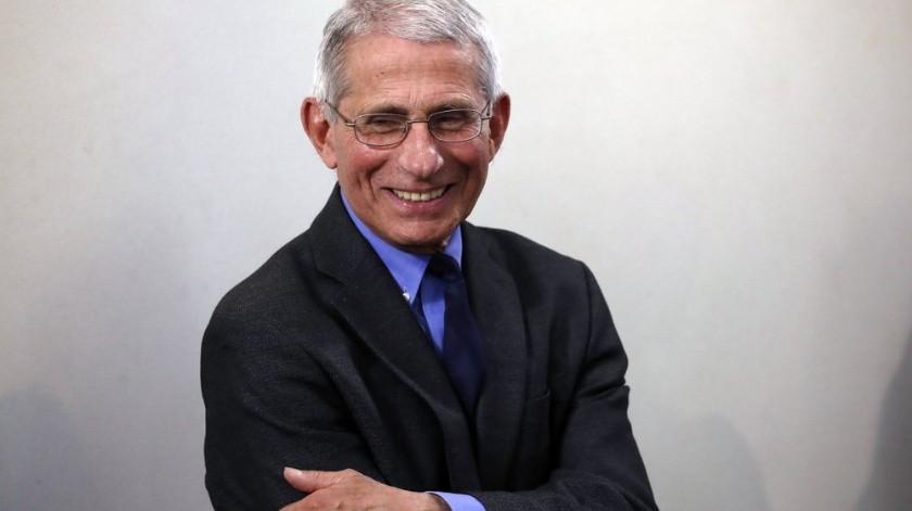 Después de décadas de prestigio en la medicina estadounidense, el doctor Antony Fauci se ha convertido en una celebridad.(AP)