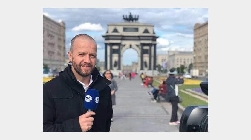 Alejandro Blanco, conductor de Fox Sports, anunció que se recuperó del Covid-19.(Twitter)