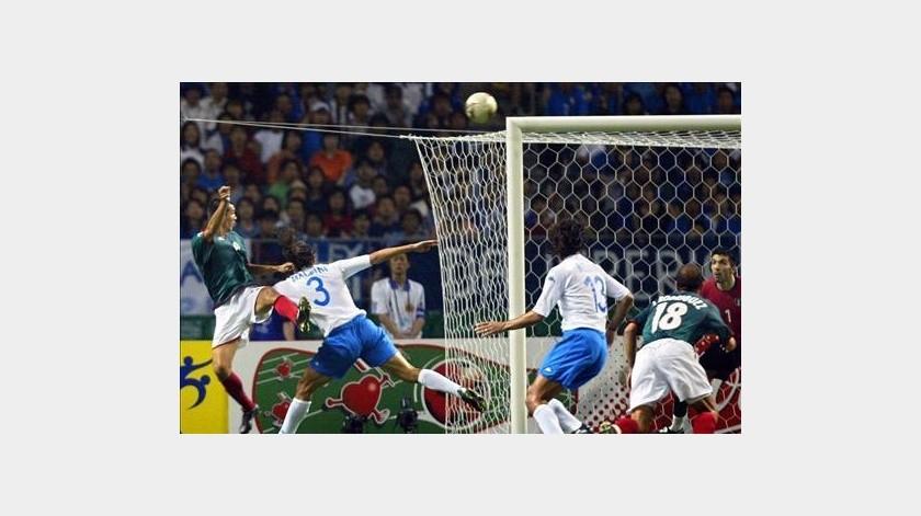 Jared Borgetti recuerda su gol del Mundial 2002.(Twitter)