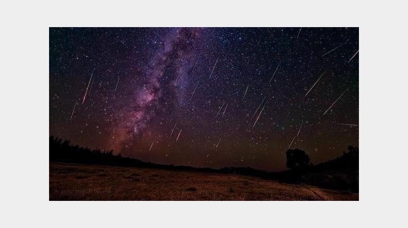 La lluvia de estrellas Líridas podrá presenciarse como un espectáculo nocturno único del 16 al 26 de abril del 2020.(Twitter)