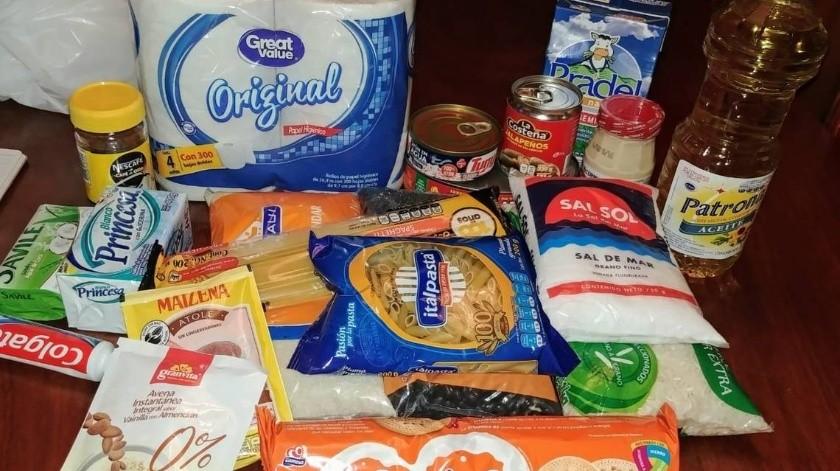 Cártel entrega despensas a familias en Michoacán y Estado de México(Ilustrativa)