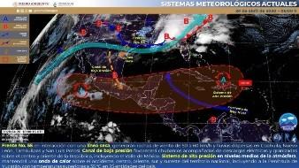 Prevén cielo medio nublado sin lluvia en Sonora y entrada de Frente Frío para mañana